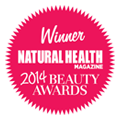 Natural Health magazine 2014 Beauty Awards