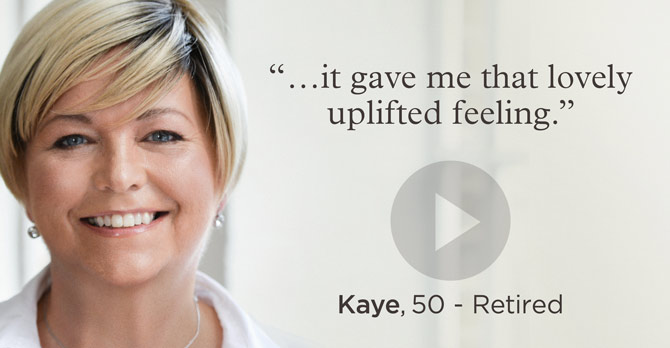 Link: Watch the video of Kaye talking about Frankincense Lift Cream