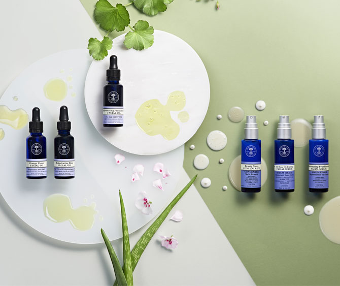 Facial oils & serums