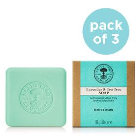Soap Trio Lavender and Tea Tree (x3)