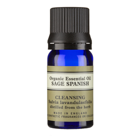 Sage Spanish Organic Essential Oil 10ml With Leaflet