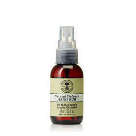 Natural Defence Hand Rub 40ml With Spray Cap