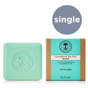 Lavender & Tea Tree Soap PF 100g COSMOS