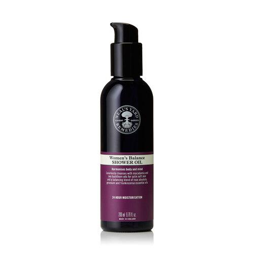 Womens Balance Shower Oil 200ml, Neal's Yard Remedies